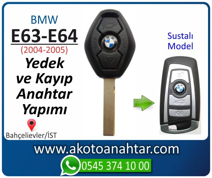 bmw 6 serisi e63 anahtari anahtar key yedek yaptirma fiyati kopyalama cogaltma kayip 2004 2005 model - Bmw E63 Anahtarı | Yedek ve Kayıp Anahtar Yapımı