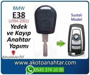Bmw E38 Araba Oto Otomobil Car Sustalı Yedek Kayıp Kumanda Kumandalı İmmobilizer Anahtar Anahtarı Çilingir Anahtarcı Acil Kopyalama Kodlama Locksmith Key Bahçelievler İstanbul Kayboldu Dönmüyor Okumuyor Orjinal Kontak Tamir Tamiri Çip