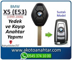 Bmw X5 (E53) Araba Oto Otomobil Car Sustalı Yedek Kayıp Kumanda Kumandalı İmmobilizer Anahtar Anahtarı Çilingir Anahtarcı Acil Kopyalama Kodlama Locksmith Key Bahçelievler İstanbul Kayboldu Dönmüyor Okumuyor Orjinal Kontak Tamir Tamiri Çip