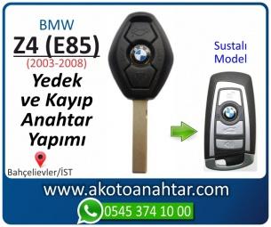 Bmw Z4 (E85) Araba Oto Otomobil Car Sustalı Yedek Kayıp Kumanda Kumandalı İmmobilizer Anahtar Anahtarı Çilingir Anahtarcı Acil Kopyalama Kodlama Locksmith Key Bahçelievler İstanbul Kayboldu Dönmüyor Okumuyor Orjinal Kontak Tamir Tamiri Çip