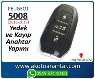 Peugeot Yeni 5008 Araba Oto Otomobil Car Sustalı Yedek Kayıp Kumanda Kumandalı İmmobilizer Anahtar Anahtarı Çilingir Anahtarcı Acil Kopyalama Kodlama Locksmith Key Bahçelievler İstanbul Kayboldu Dönmüyor Okumuyor Orjinal Kontak Tamir Tamiri Çip