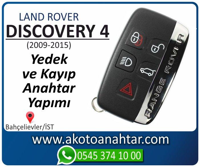 Land Rover Discovery 4 Araba Oto Otomobil Car Sustalı Yedek Kayıp Kumanda Kumandalı İmmobilizer Anahtar Anahtarı Çilingir Anahtarcı Acil Kopyalama Kodlama Locksmith Key Bahçelievler İstanbul Kayboldu Dönmüyor Okumuyor Orjinal Kontak Tamir Tamiri Çip
