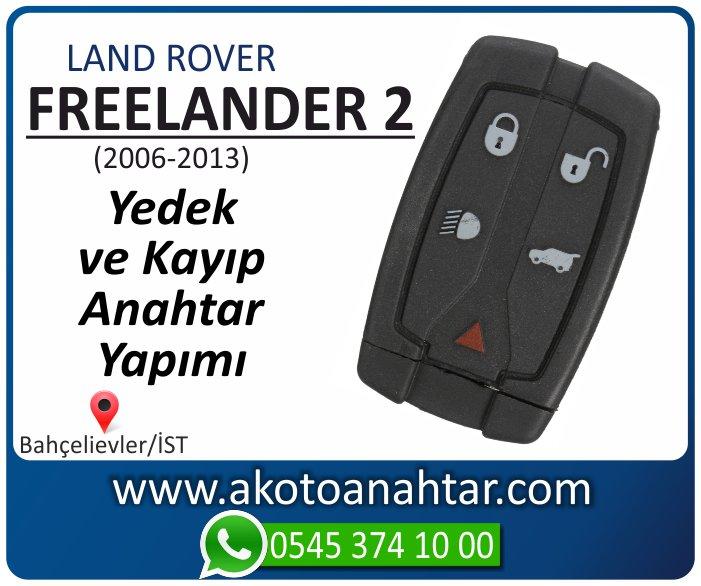 land rover freelander 2 anahtari anahtar key yedek yaptirma fiyati kopyalama cogaltma kayip 2006 2007 2008 2009 2010 2011 2012 2013 model - Land Rover freelander 2 Anahtarı | Yedek ve Kayıp Anahtar Yapımı