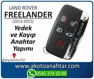 Land Rover freelander Araba Oto Otomobil Car Sustalı Yedek Kayıp Kumanda Kumandalı İmmobilizer Anahtar Anahtarı Çilingir Anahtarcı Acil Kopyalama Kodlama Locksmith Key Bahçelievler İstanbul Kayboldu Dönmüyor Okumuyor Orjinal Kontak Tamir Tamiri Çip