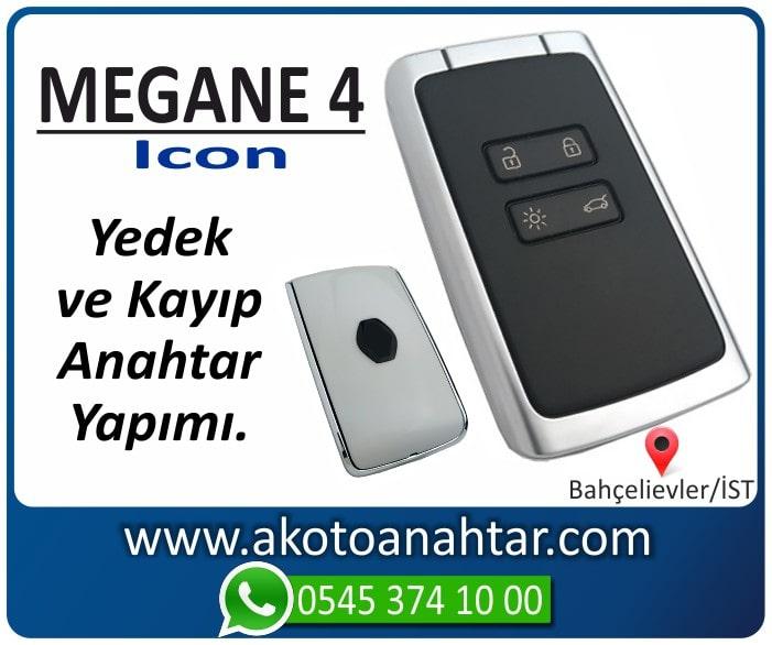 megane 4 icon anahtari anahtar key yedek yaptirma fiyati kopyalama cogaltma kayip 2015 2016 2017 2018 2019 2020 - Renault Megane 4 Icon Anahtarı | Yedek ve Kayıp Anahtar Yapımı