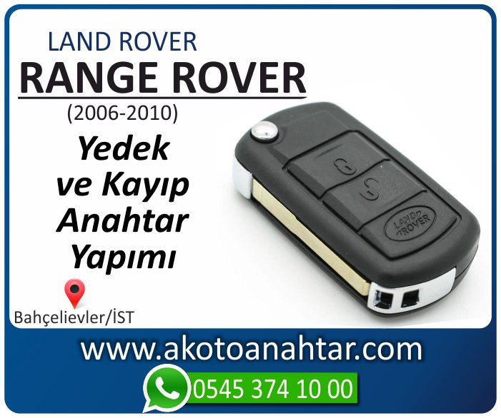 range rover anahtari anahtar key yedek yaptirma fiyati kopyalama cogaltma kayip 2006 2007 2008 2009 2010 model - Range Rover Anahtarı | Yedek ve Kayıp Anahtar Yapımı