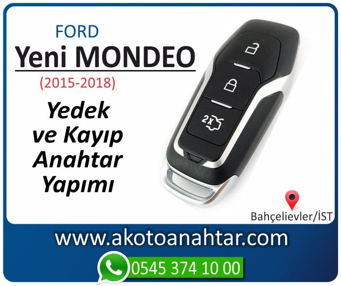Ford Mondeo 5 anahtari smart anahtar key yedek yaptirma fiyati kopyalama cogaltma kayip 2015 2016 2017 2018 model - Ford Yeni Mondeo Anahtarı | Yedek ve Kayıp Anahtar Yapımı