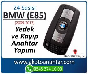 BMW Z4 Serisi E85 Araba Oto Otomobil Car Yedek Kayıp Kumanda Kumandalı İmmobilizer Anahtar Anahtarı Çilingir Anahtarcı Acil Kopyalama Kodlama Locksmith Key Bahçelievler İstanbul Kayboldu Dönmüyor Okumuyor Orjinal Kontak Tamir Tamiri Çip