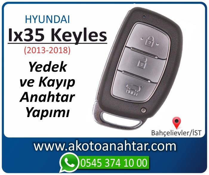 hyundai ix35 ix 35 keyles anahtari anahtar key yedek yaptirma fiyati kopyalama cogaltma kayip 2013 2014 2015 2016 2017 2018 model - Hyundai Ix35 Keyles Anahtarı | Yedek ve Kayıp Anahtar Yapımı