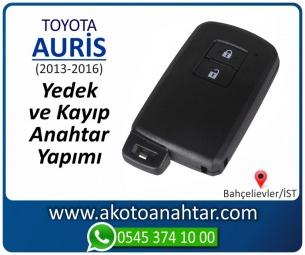 Toyota Auris Smart Araba Oto Otomobil Car Sustalı Yedek Kayıp Kumanda Kumandalı İmmobilizer Anahtar Anahtarı Çilingir Anahtarcı Acil Kopyalama Kodlama Locksmith Key Bahçelievler İstanbul Kayboldu Dönmüyor Okumuyor Orjinal Kontak Tamir Tamiri Çip