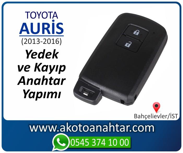 toyota auris smart anahtari anahtar key yedek yaptirma fiyati kopyalama cogaltma kayip 2013 2014 2015 2016 model - Toyota Auris Smart Anahtarı | Yedek ve Kayıp Anahtar Yapımı