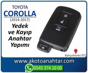 Toyota Corolla Smart Araba Oto Otomobil Car Sustalı Yedek Kayıp Kumanda Kumandalı İmmobilizer Anahtar Anahtarı Çilingir Anahtarcı Acil Kopyalama Kodlama Locksmith Key Bahçelievler İstanbul Kayboldu Dönmüyor Okumuyor Orjinal Kontak Tamir Tamiri Çip