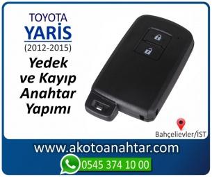 Toyota Yaris Smart Araba Oto Otomobil Car Sustalı Yedek Kayıp Kumanda Kumandalı İmmobilizer Anahtar Anahtarı Çilingir Anahtarcı Acil Kopyalama Kodlama Locksmith Key Bahçelievler İstanbul Kayboldu Dönmüyor Okumuyor Orjinal Kontak Tamir Tamiri Çip