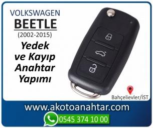 Volkswagen Beetle Araba Oto Otomobil Car Sustalı Yedek Kayıp Kumanda Kumandalı İmmobilizer Anahtar Anahtarı Çilingir Anahtarcı Acil Kopyalama Kodlama Locksmith Key Bahçelievler İstanbul Kayboldu Dönmüyor Okumuyor Orjinal Kontak Tamir Tamiri Çip