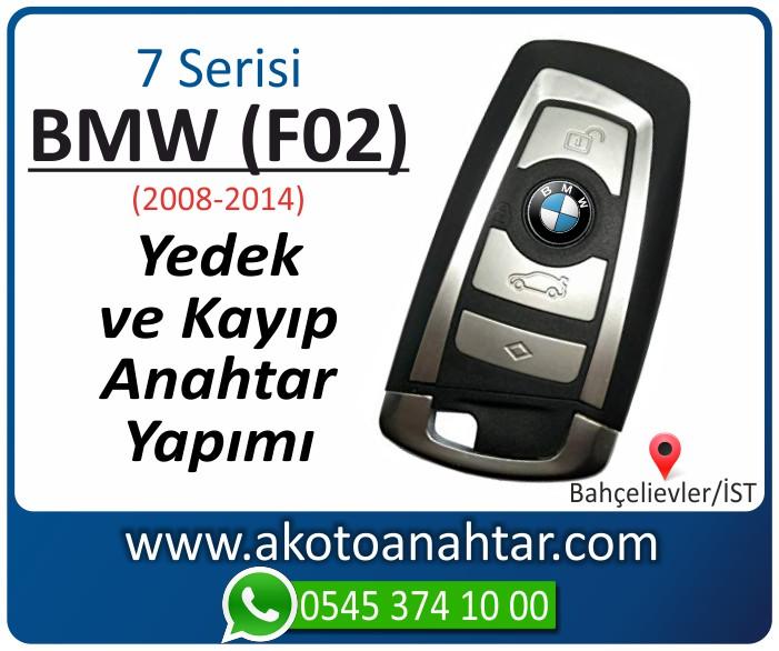 bmw 7 serisi f02 anahtari anahtar key yedek yaptirma fiyati kopyalama cogaltma kayip 2011 2012 2013 model - BMW 7 Serisi F02 Anahtarı | Yedek ve Kayıp Anahtar Yapımı