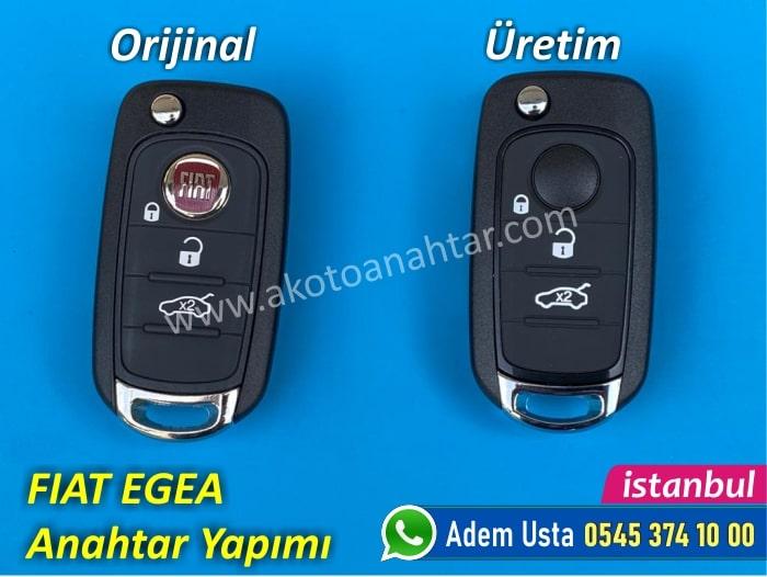 fiat egea anahtar 1 - Fiat Egea Anahtar Yapımı   Yedek Kopyalama