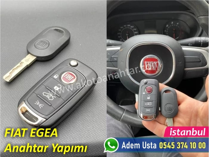 fiat egea anahtar 5 - Fiat Egea Anahtar Yapımı   Yedek Kopyalama